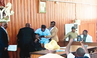 Chaos as Edo State House of Assembly impeach Speaker
