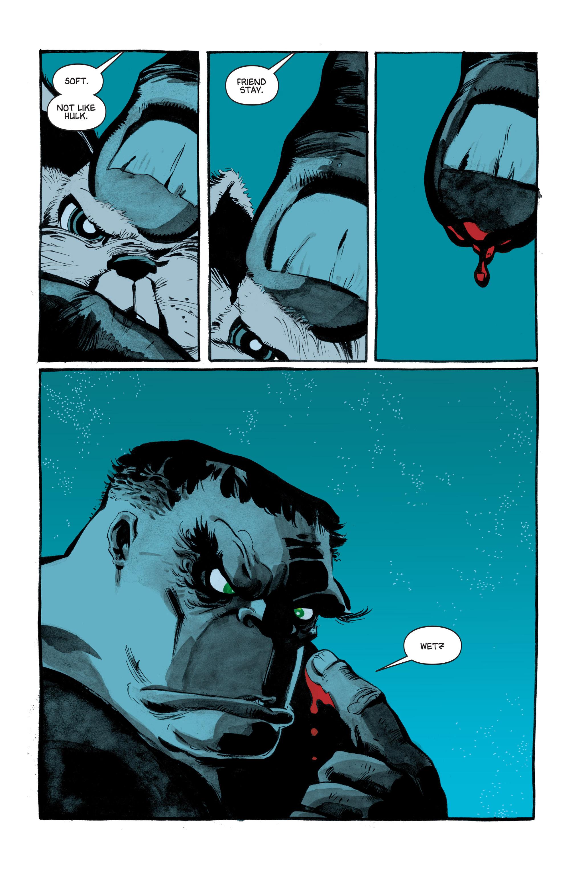 Read online Hulk: Gray comic -  Issue #3 - 5