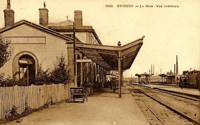 Brioude, Haute-Loire, la Gare.