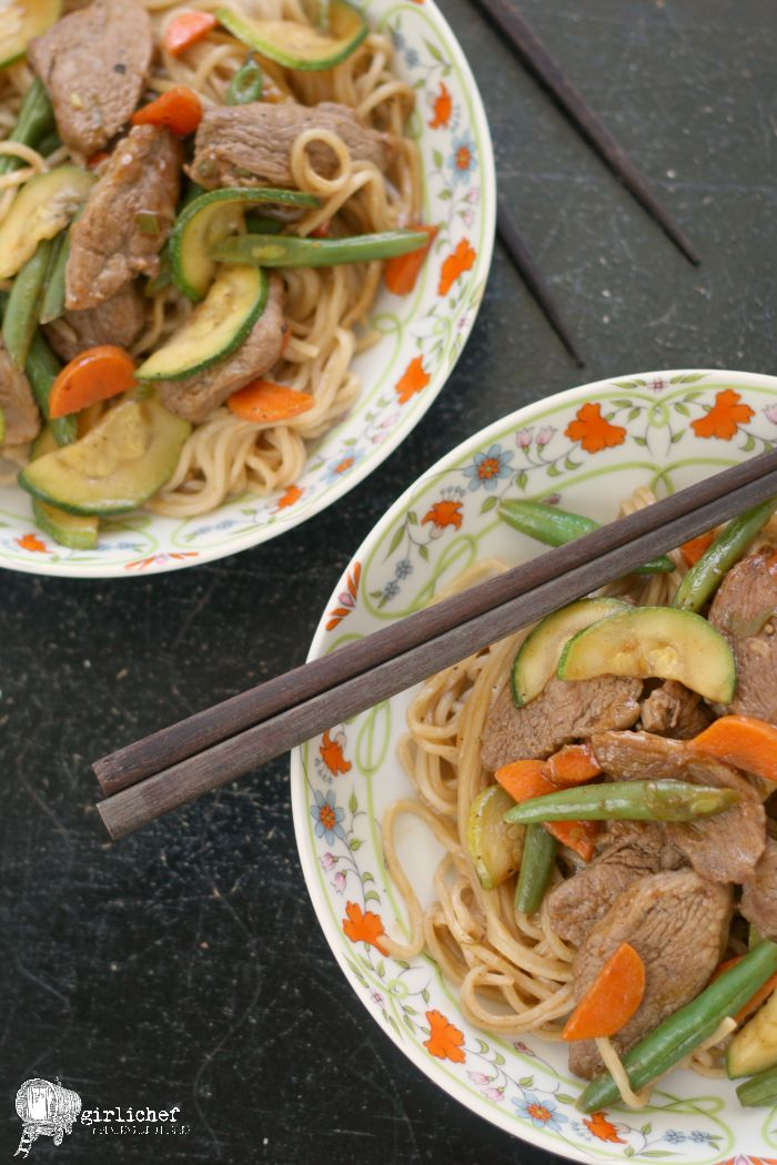 Garlicky Duck Stir-Fry