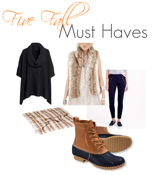 Five Fall Must Haves