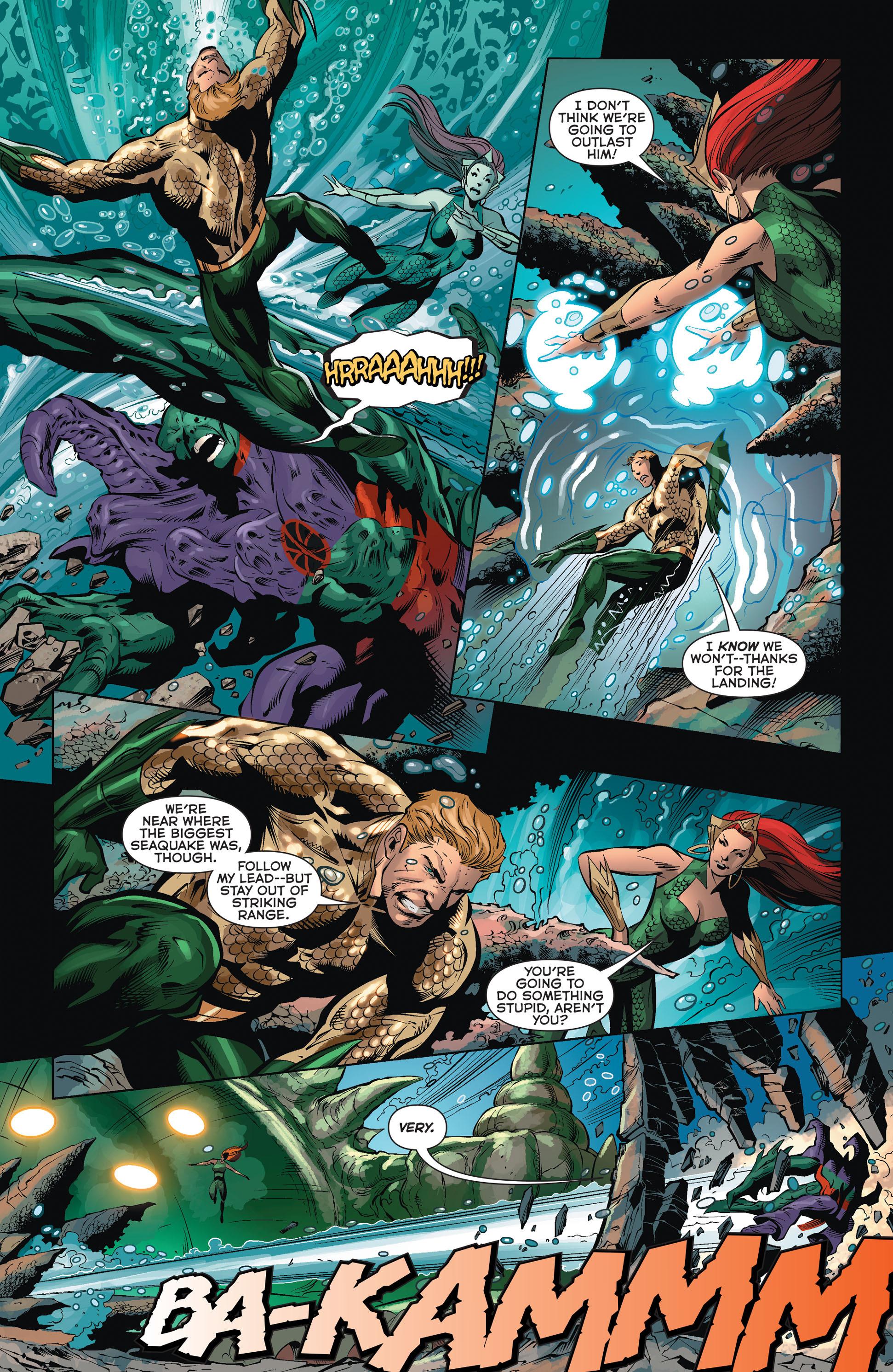 Read online Aquaman (2011) comic -  Issue #36 - 18