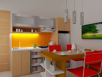 2 Langkah Menyusun Interior Kitchen Set Sederhana