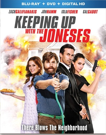 Keeping Up with the Joneses 2016 English Bluray Movie Download