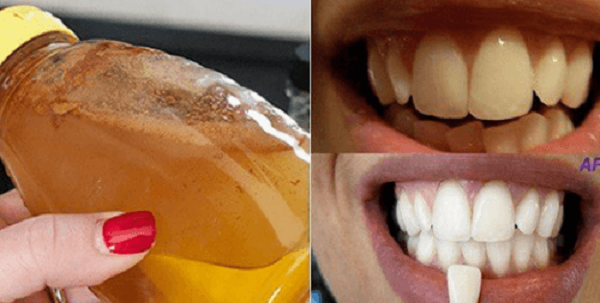Bleach your teeth naturally with a 100% natural ingredient