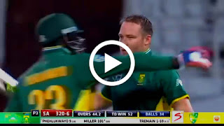 South Africa vs Australia 3rd ODI 2016 - Full Highlights