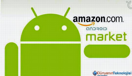 Android market indir Amazon appstore