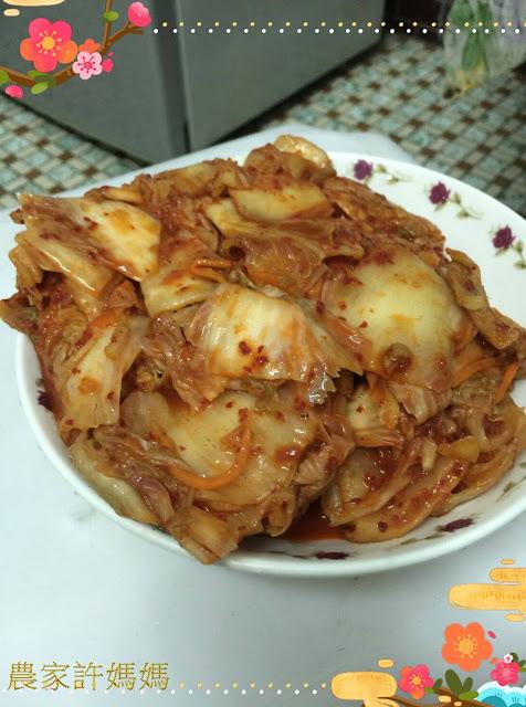 健康與美味的~韓式泡菜(((不吃會後悔