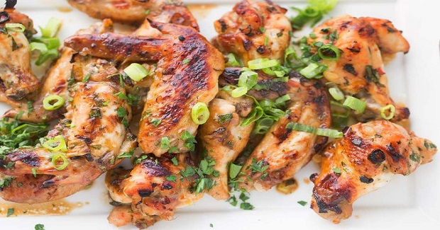 Asian Style Garlic Ginger Wings Recipe