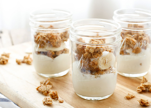 Chewy, peanut filled, lightly sweetened granola is a hearty way to top your yogurt, sprinkle over cereal, or simply snack on a handful when you're hungry for an afternoon snack. Get the recipe at barefeetinthekitchen.com