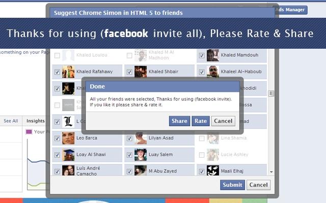 Auto invite group facebook terbaru !