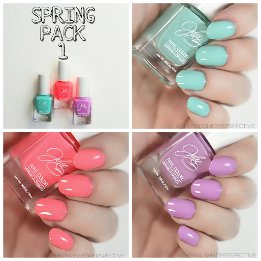 JulieG Spring Nail Packages Special Offer and Swatch