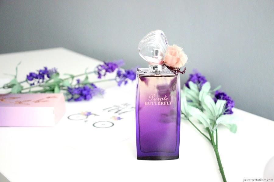 Purple Butterfly, la nouvelle fragrance signée Hanae Mori ! julieetsesfutilites.com