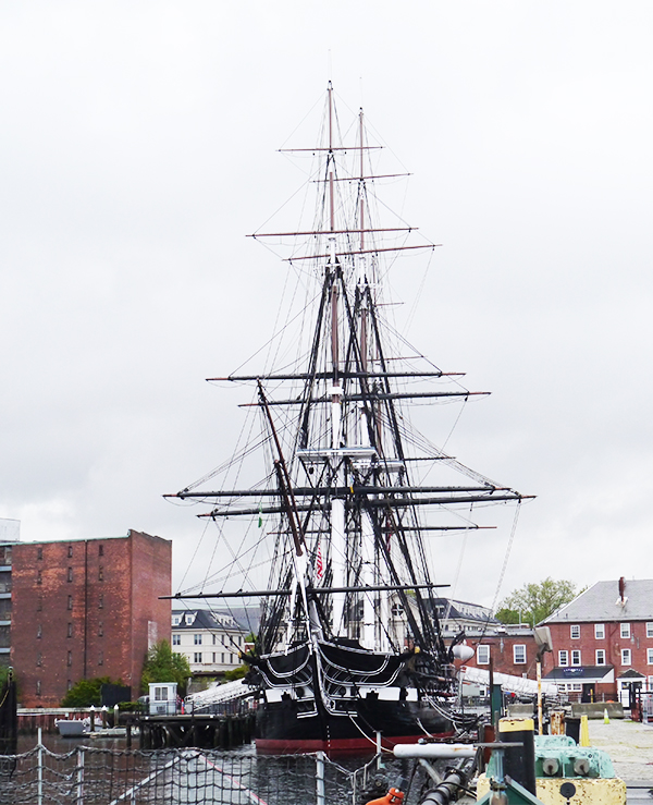 USS Constitution, Charlestown Navy Yard, Boston MA