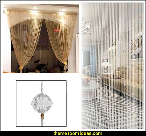 String Curtain Fringe Room Dividers