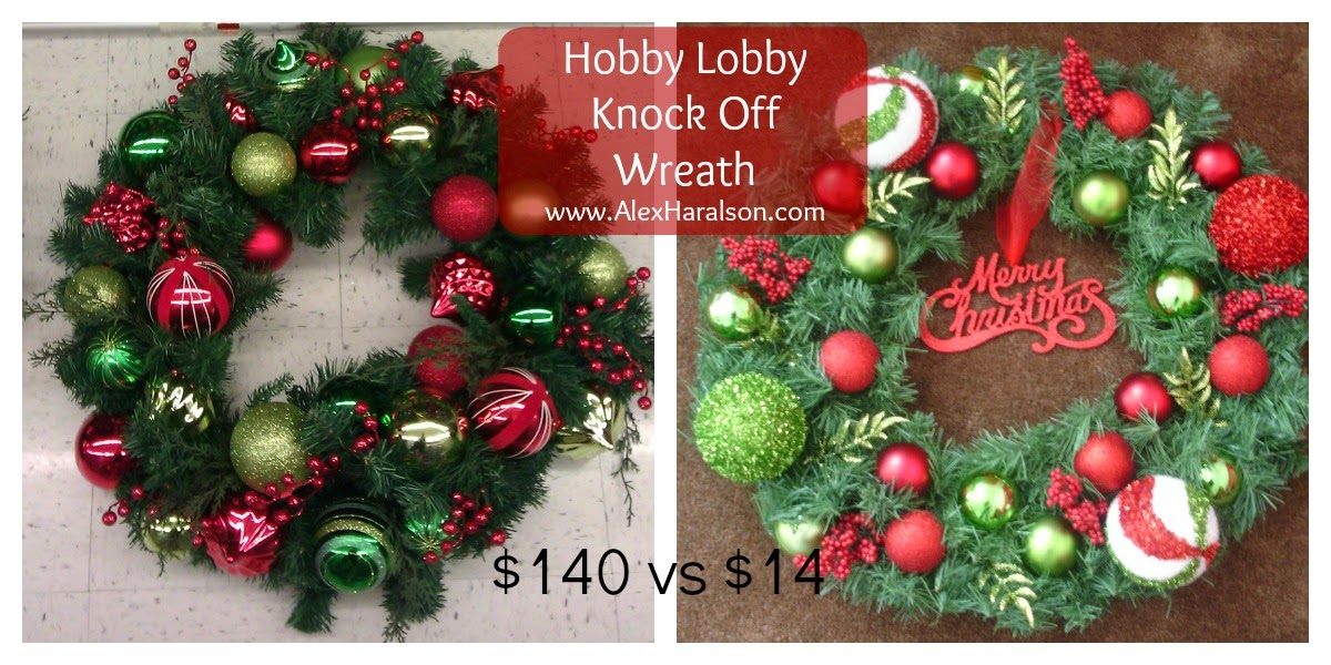 Hobby Lobby Christmas Wreaths.Alex Haralson Hobby Lobby Inspired Lime Green And Red