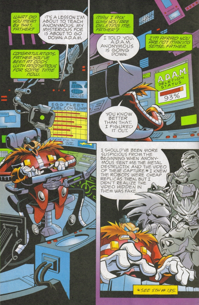 Read online Sonic The Hedgehog comic -  Issue #168 - 4