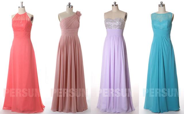 choisir une couleur idéale pour robe mariage invité