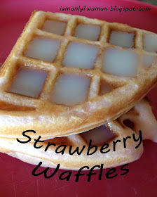 Strawberry Flavored Waffles and Pancake Recipe