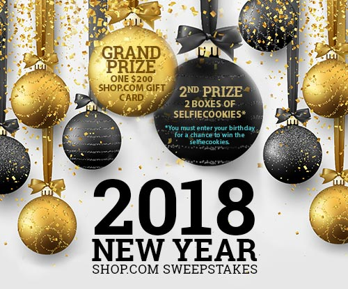 SHOP.com 2018 New Year Sweepstakes
