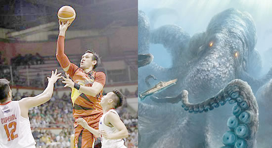 The Kraken (villain) - June Mar Fajardo