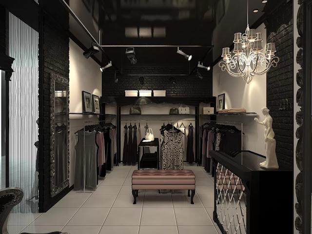 Thiết kế shop thời trang nhỏ đẹp - Mẫu số 16