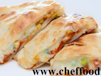 Chicken Cheese Paratha Recipe