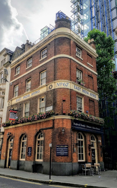 A historic pub in the heart of the City of London