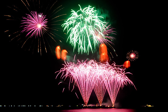 fireworks display by Philippines Pyromusical Competition 2016