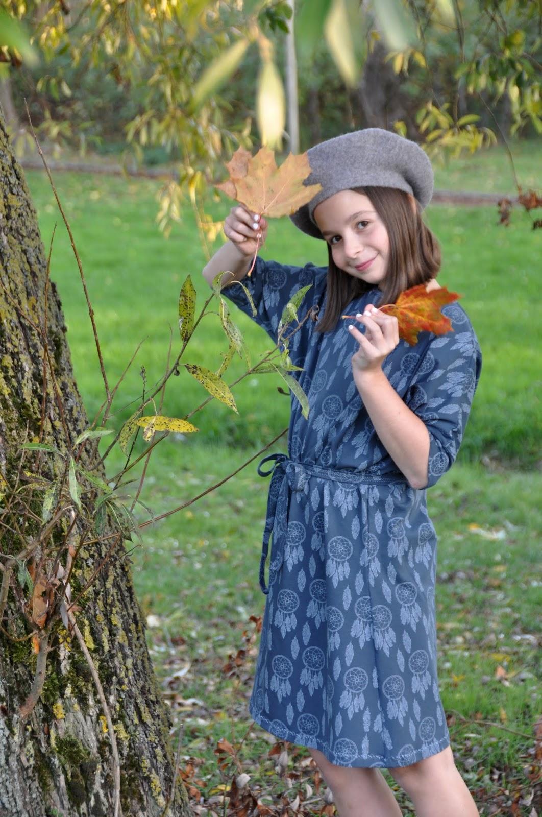 977bcaa18243e6 Een tricot jurk voor de herfst