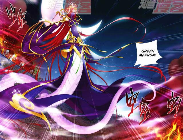 Battle through the Heavens - Queen Medusa