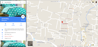 Alamat agorabedding di Google Maps