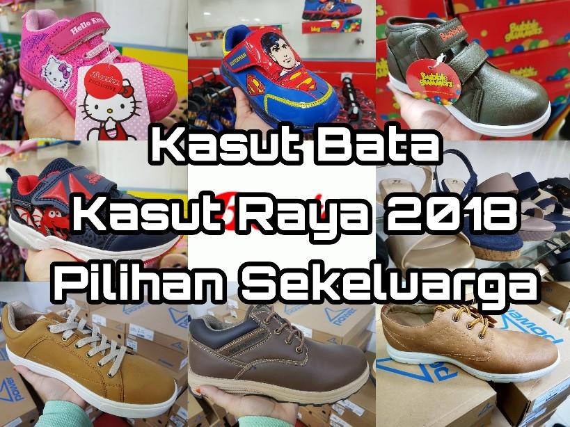 Kasut Bata Kasut Raya 2018 Pilihan Sekeluarga