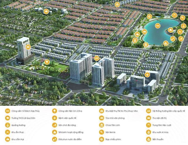 Tiện ích ngoại khu dự án Anland Premium