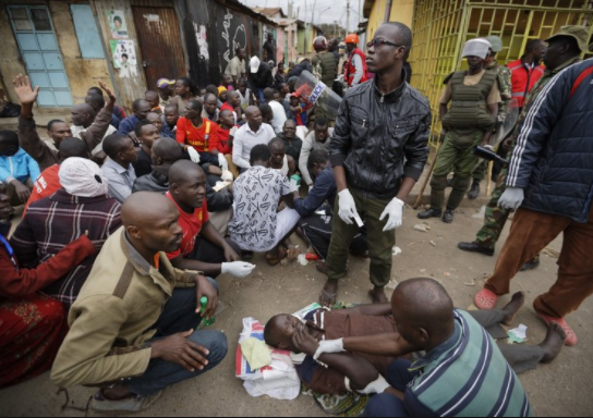 Two Kenyan journalists beaten up at opposition headquarters
