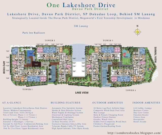 One Lakeshore Drive Site Plan