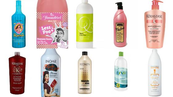 shampoos low poo tamanho profissional