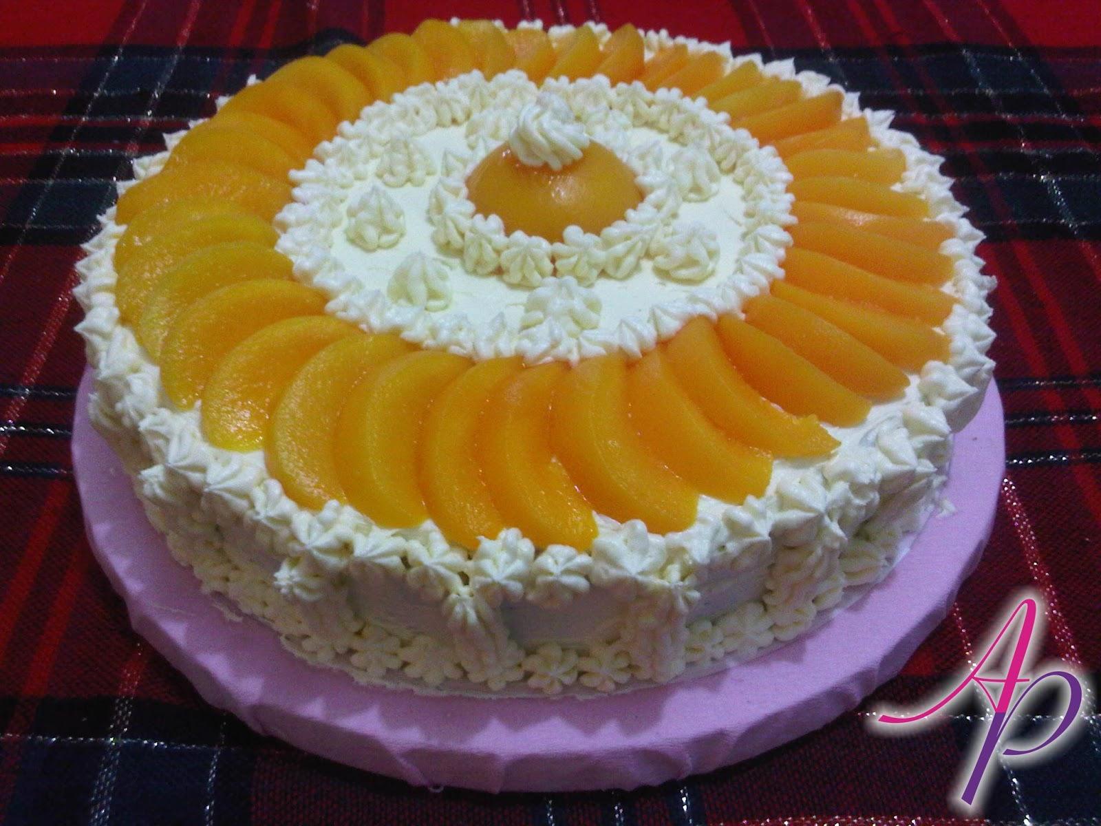 Alessandra Producciones Torta Melocot 243 N Y Crema De
