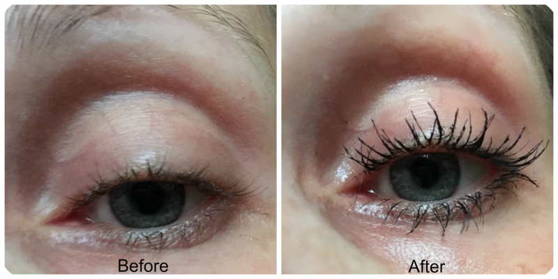 before and after bourjois volume reveal mascara