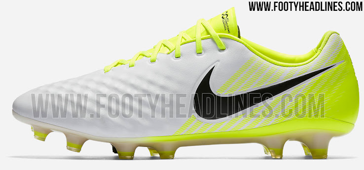 All-New Upper - White   Volt Nike Magista Opus 2017 Boots Released ... d2b968dc03ea