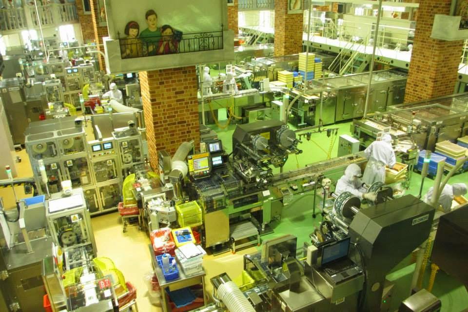 Shiroi Koibito Park Factory