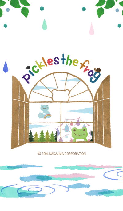 pickles the frog - cross the rainbow -