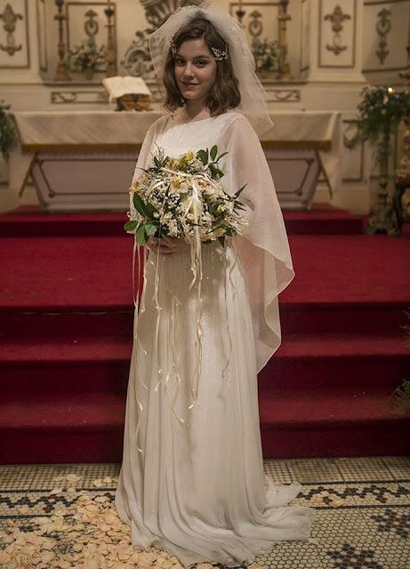 Ligações Perigosas, Cecilia (Alice Wegmman) vestido de noiva, figurino