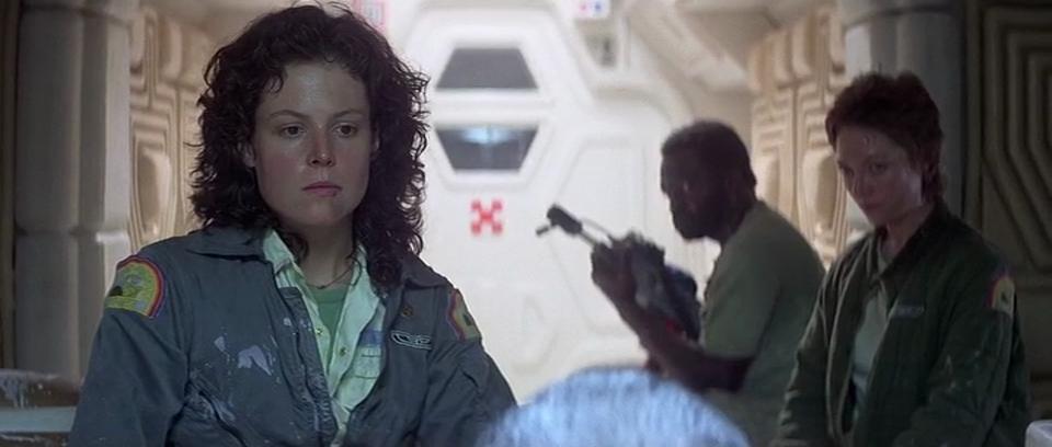 Sigourney Weaver - Japhet Kotto - Veronica Cartwright in Alien