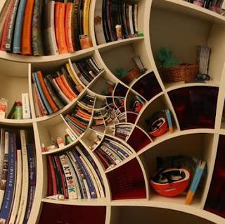 Diseño de librero de madera