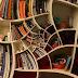 Diseño de estantes o libreros fuera de lo común.