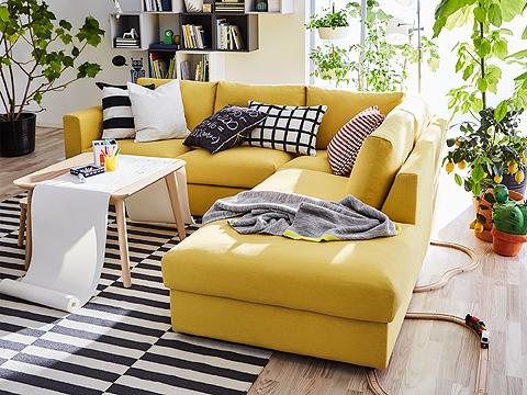 Kursi Sofa Ikea Untuk Ruang Tamu