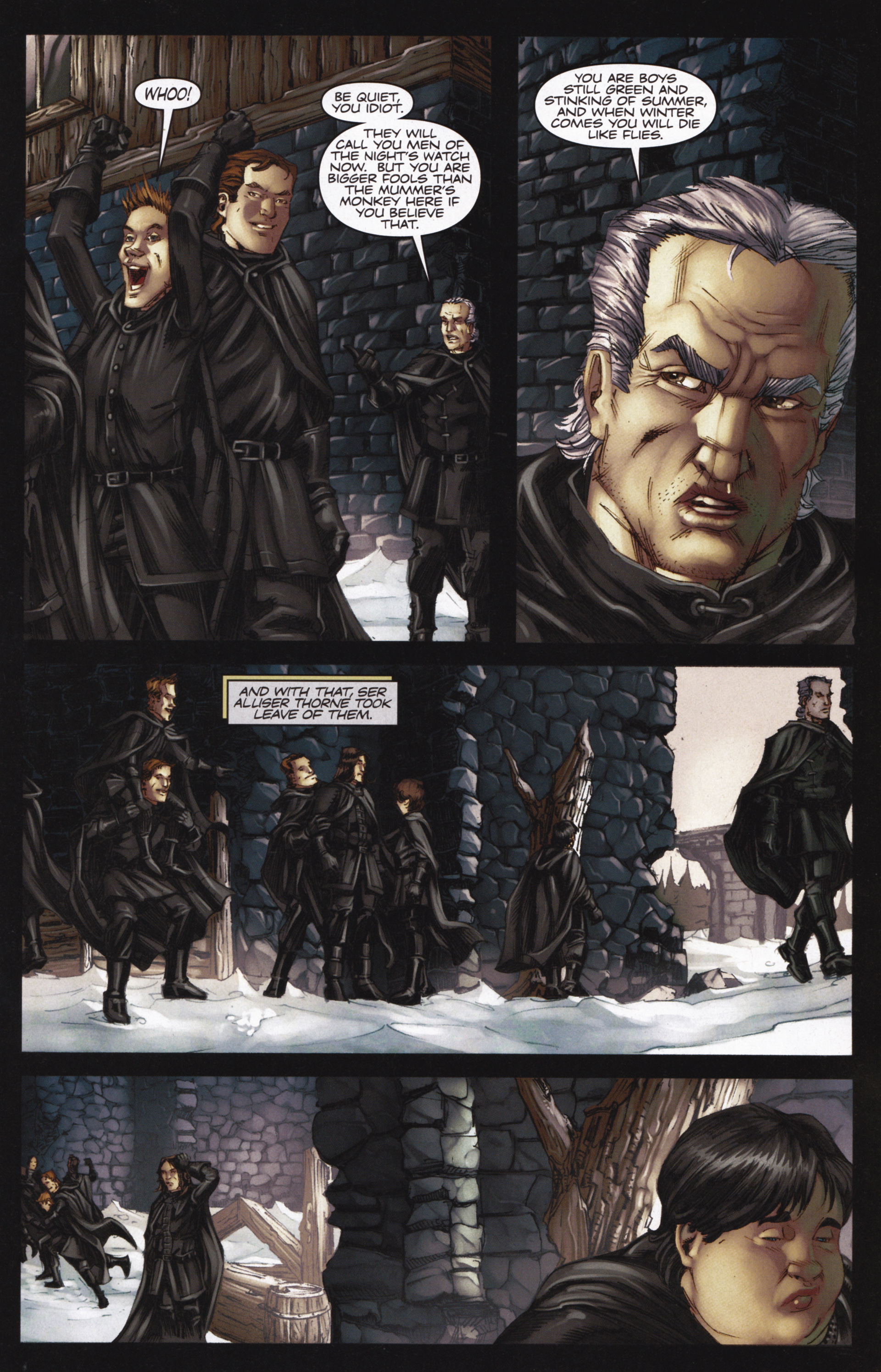 Read online A Game Of Thrones comic -  Issue #13 - 11