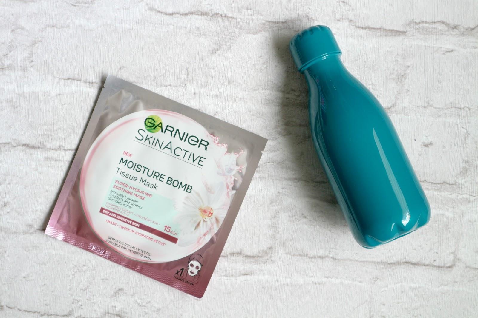 Garnier SkinActive Moisture Bomb Tissue Masks
