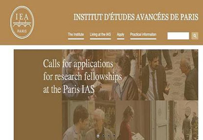 Paris Institute for Advanced Study Calls for Applications for Research Fellowships2019-2020